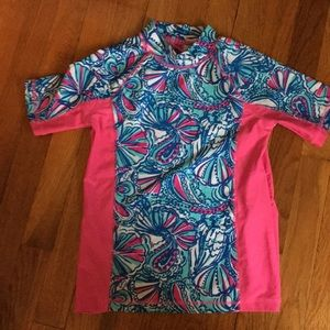 Lilly Pulitzer rash guard